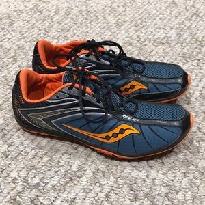 Saucony Shay XC2 Cross Country Spike Sneakers 9 M